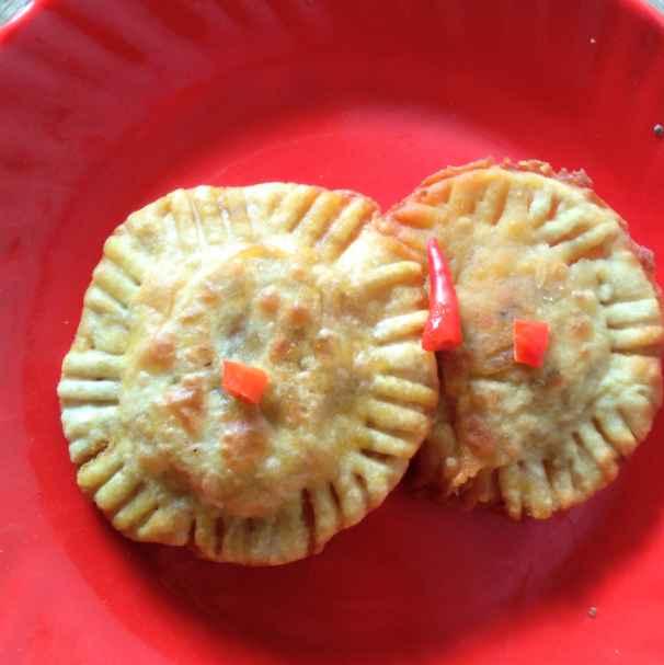 How to make নারকেল পনীর কচুরি