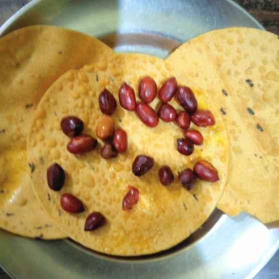 How to make বাদাম পাপড় ভাজা