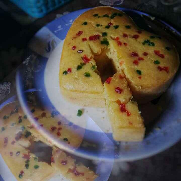How to make Tutti frutti rava cake