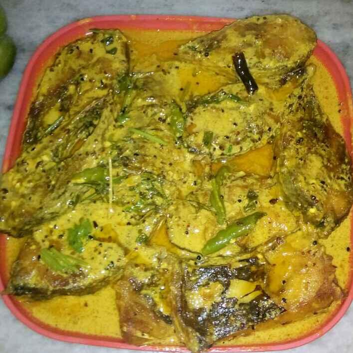 How to make Sorse elish  (Hilsha fish in mustard paste)