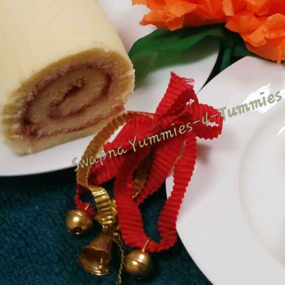 Photo of Swiss Roll /Jelly Roll / Jam Roll by Swapna Sunil at BetterButter