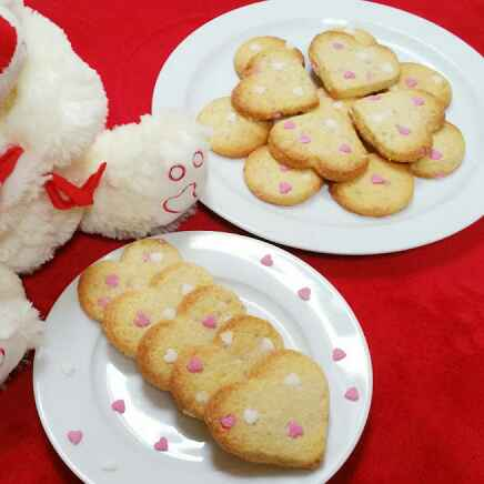 How to make Eggless Shortbread Cookies