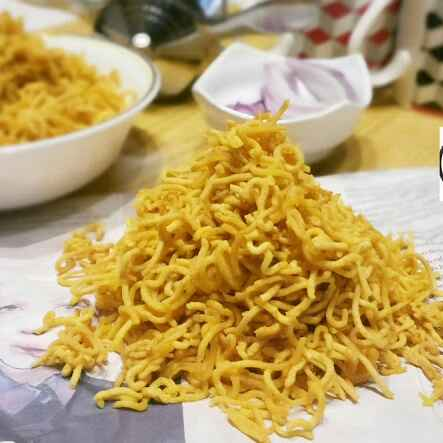 How to make Sev / Sanna karapoosa !!!