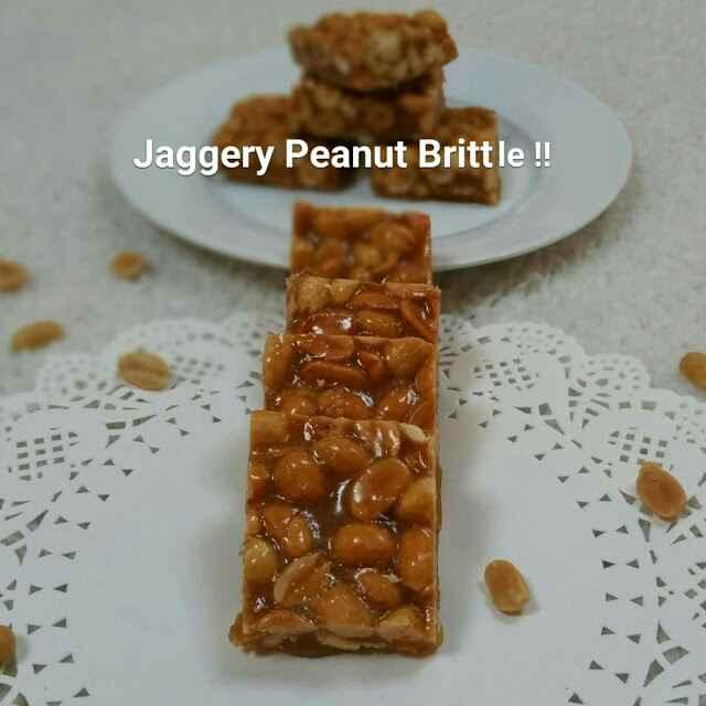 Photo of Jaggery peanut brittle / Chikki /Palli patti !! by Swapna Sunil at BetterButter