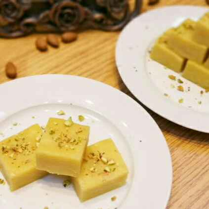 Photo of Badam /Almond Burfi by Swapna Sunil at BetterButter