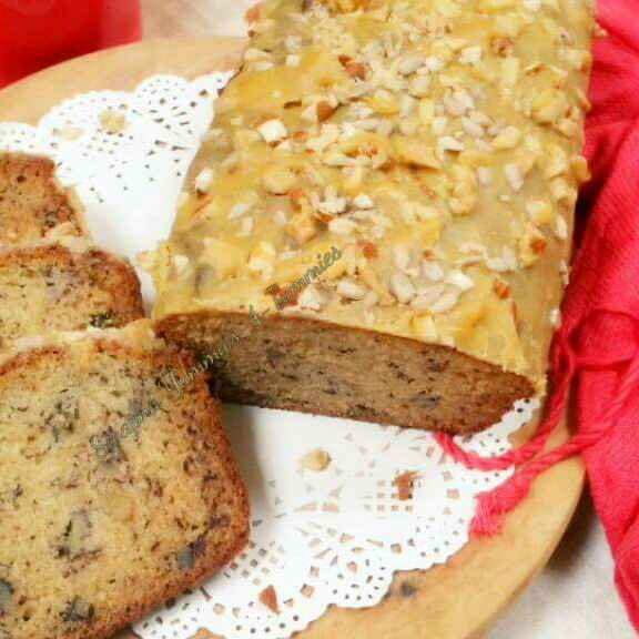 Photo of Super Moist Banana Walnut Bread with a Browned Butter Glaze  by Swapna Sunil at BetterButter