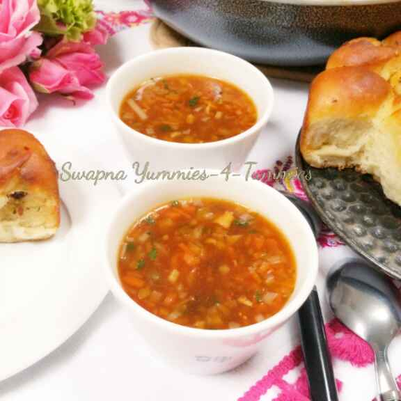 How to make Vegetable Hot And Sour Soup