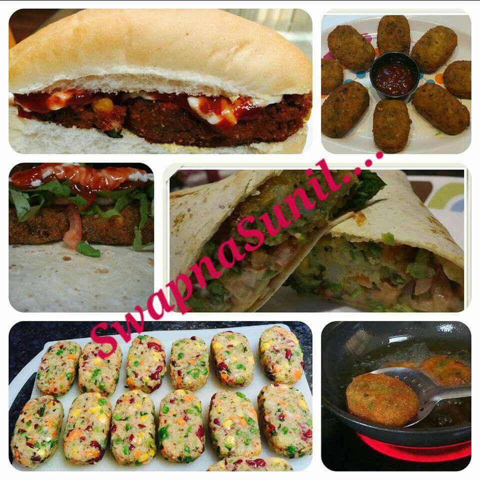 Photo of Bean oat Pattice / Cutlets !!! Crispy n crunchy !!! by Swapna Sunil at BetterButter
