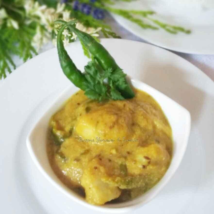 Photo of Chama Dumpa Pulusu - Arbi with Sesame Tamarind Sauce by Swapna Sunil at BetterButter