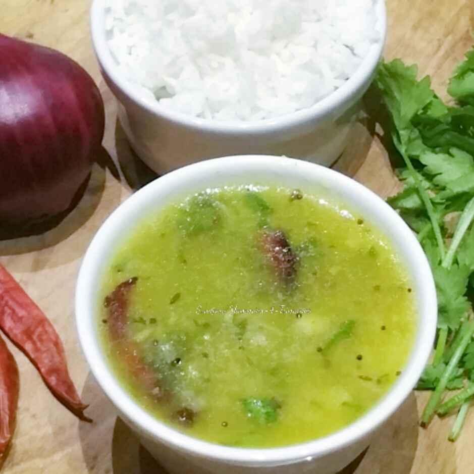 How to make Mamidikaya Pachi Pulusu