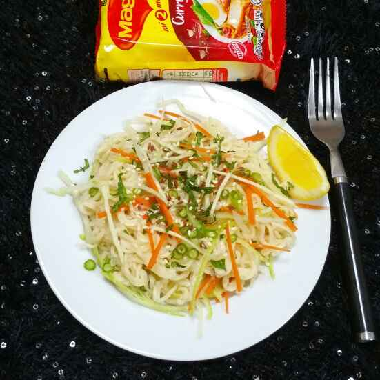 How to make Maggi Noodle Salad