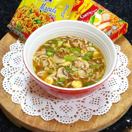 Photo of Hot and sour noodle soup by Swapna Sunil at BetterButter