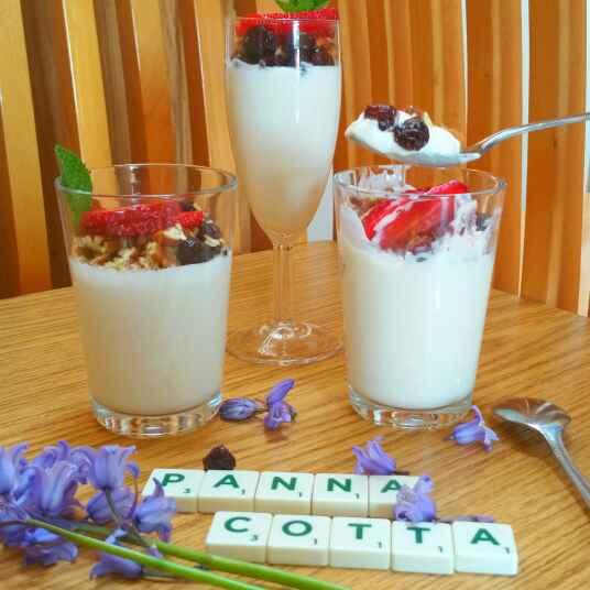 How to make Breakfast Yogurt Panna Cotta