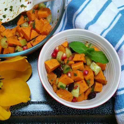 How to make Sweet Potato Salad!