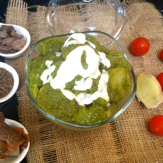 Photo of Palak vegetable gravy  by Swapna Sunil at BetterButter