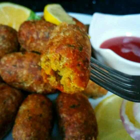 How to make Veggie Soya nuggets.