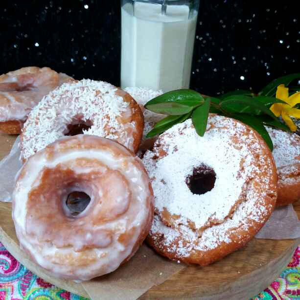 Photo of Old fashioned sour cream doughnuts by Swapna Sunil at BetterButter