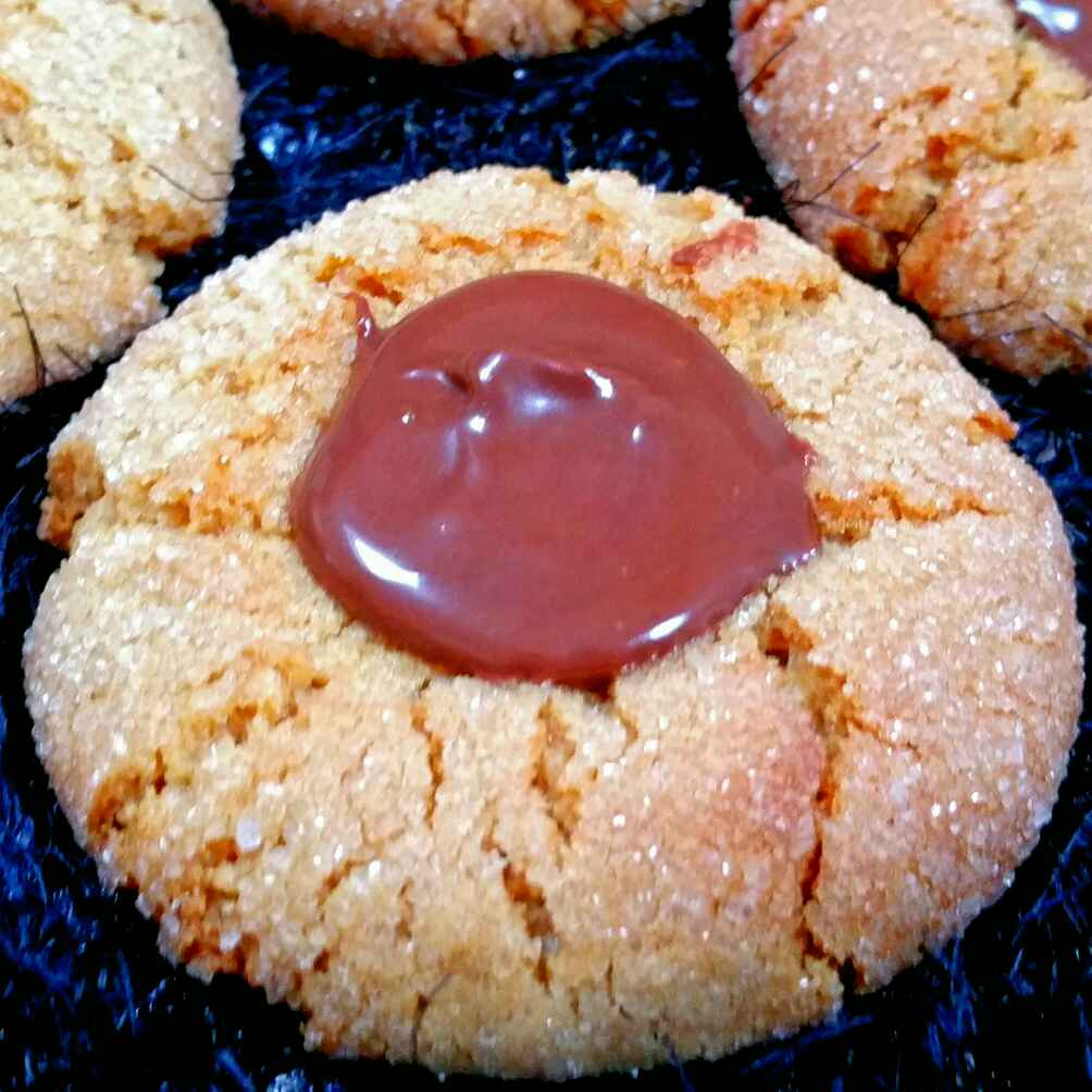 Photo of Peanut butter thumbprint cookies by Swapna Sunil at BetterButter
