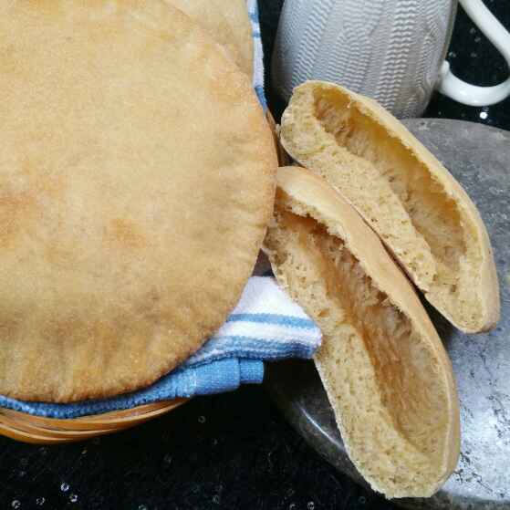 Photo of Whole wheat Pita bread. by Swapna Sunil at BetterButter