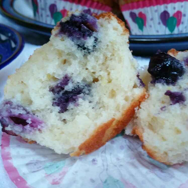 Photo of Bluberry cream cheese muffins by Swapna Sunil at BetterButter