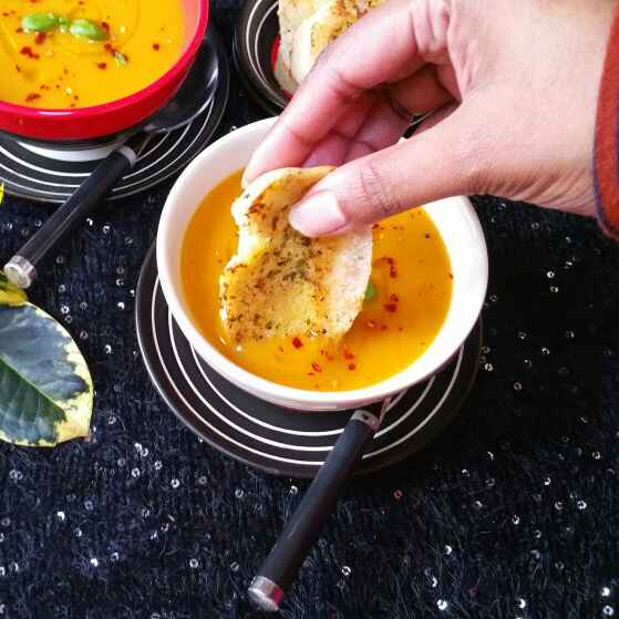 Photo of Sweet Potato Coconut Lime Soup by Swapna Sunil at BetterButter