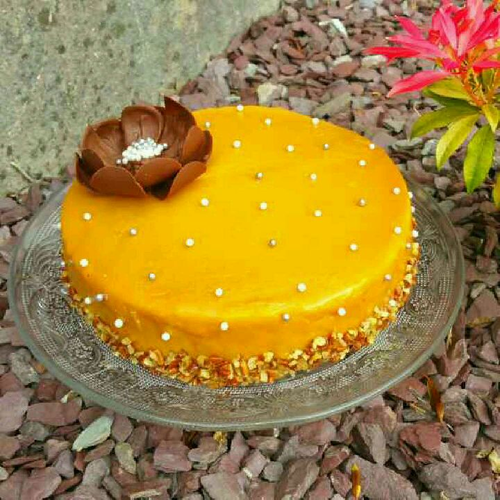 How to make Nutty Coffee caramel mousse cake.