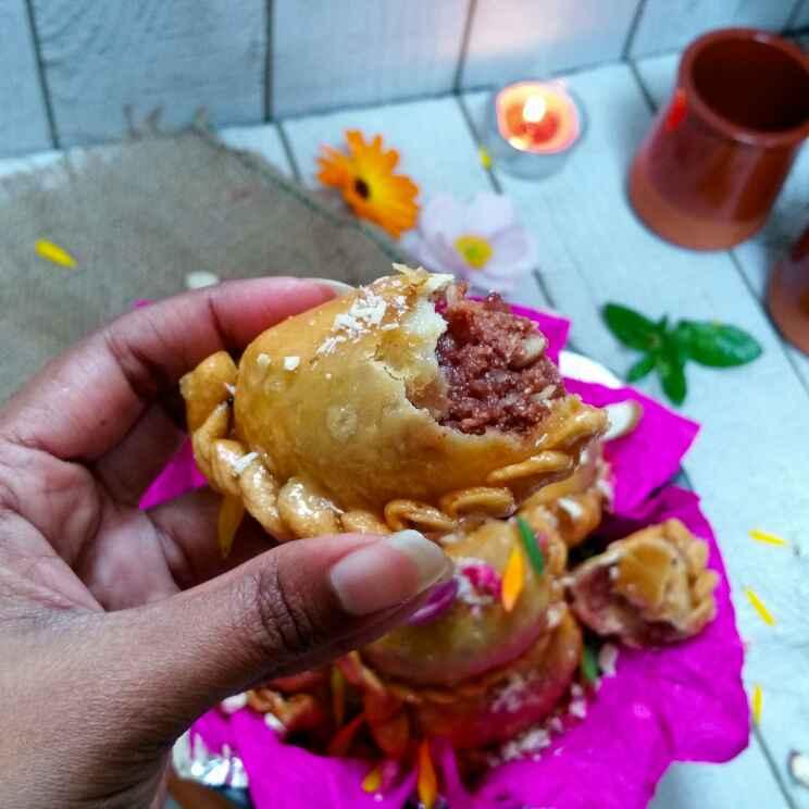 Photo of Choclate mawa gujiya by Swapna Sunil at BetterButter