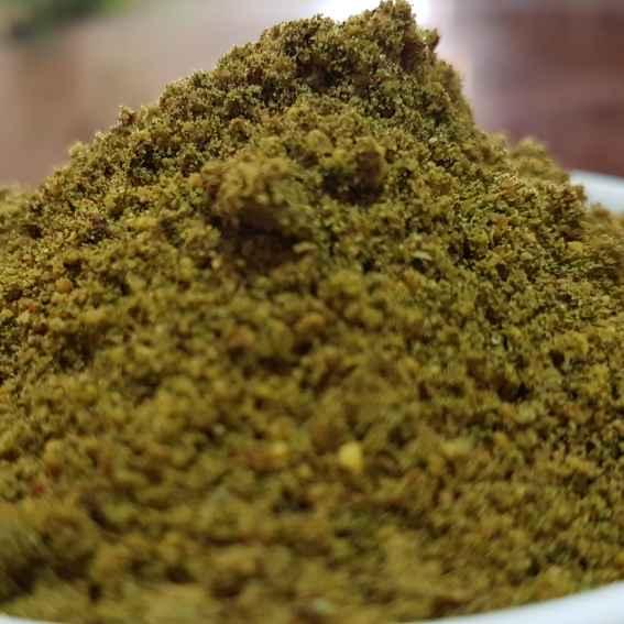 How to make మునగాకు పొడి.