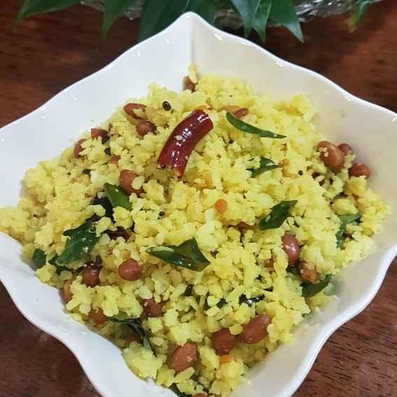 Photo of Rice flakes pulihora. by Swapna Sashikanth Tirumamidi at BetterButter