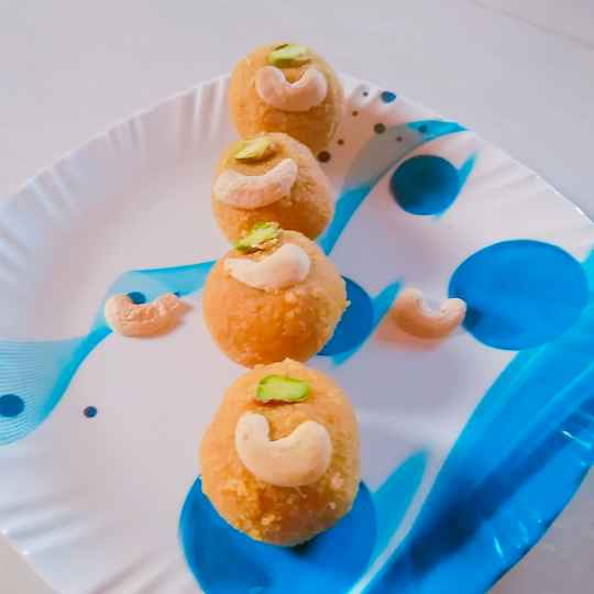 Photo of Damati laddoo by Swapnal swapna p at BetterButter