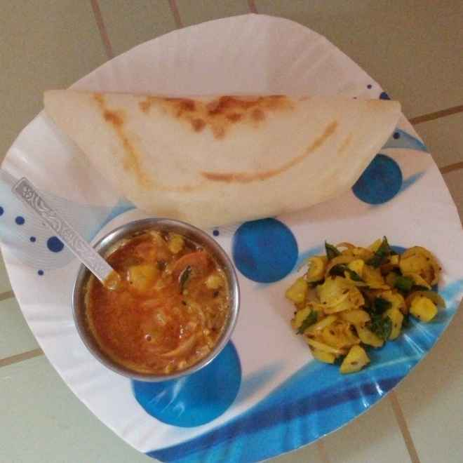 Photo of Mix dal dosa by Swapnal swapna p at BetterButter