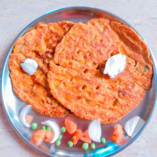 Photo of Carrot thalipith by Swapnal swapna p at BetterButter