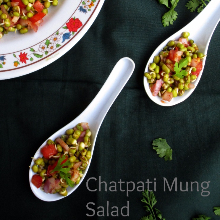 How to make Green Gram Sprouts Salad