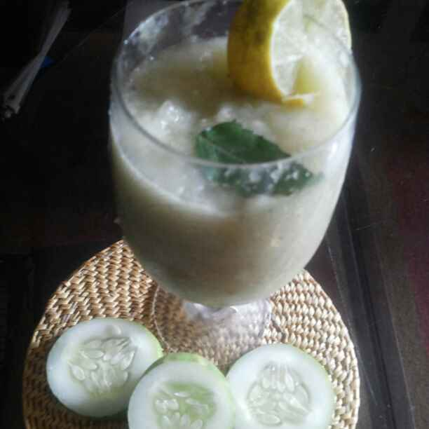 How to make Ghiya and Cucumber Juice