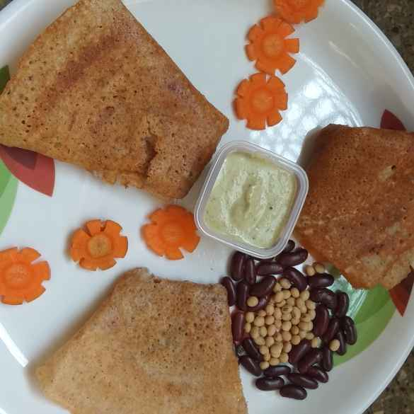 Photo of SoyaRajma Dosa by SwathiBindhu Peeta at BetterButter