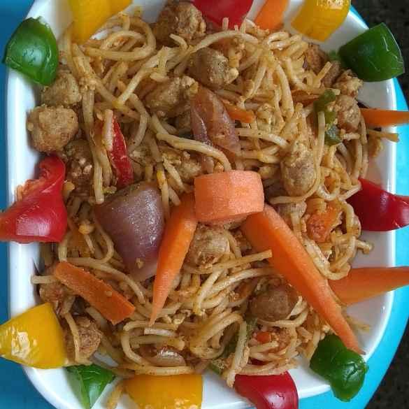 Photo of Egg soya noodles by SwathiBindhu Peeta at BetterButter