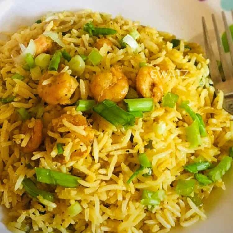 Photo of Indo -Chinese Shrimps fried rice by Swathi Joshnaa Sathish at BetterButter