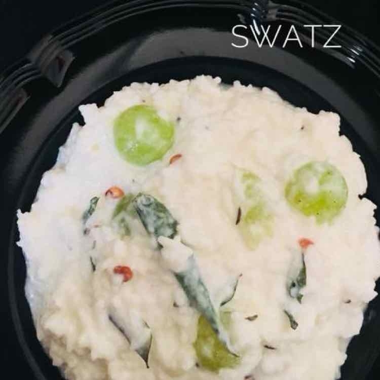 How to make Lunchbox creamy curd rice ( Travel friendly )