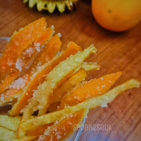 Photo of Homemade Orange Candied Peels by Swathi Joshnaa Sathish at BetterButter