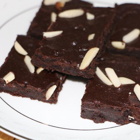 How to make Whole wheat chocolate yogurt brownies