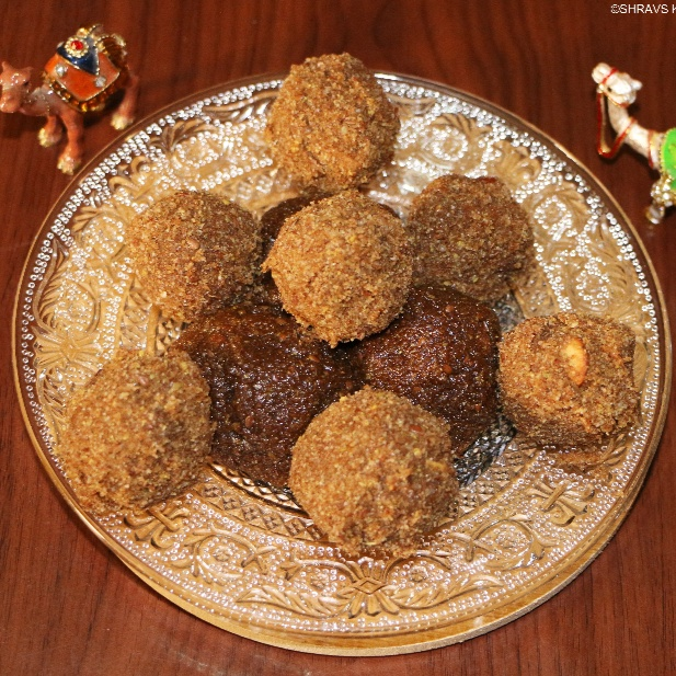 Photo of Flaxseed   Red Poha Ladoo by Swathy Nandhini at BetterButter