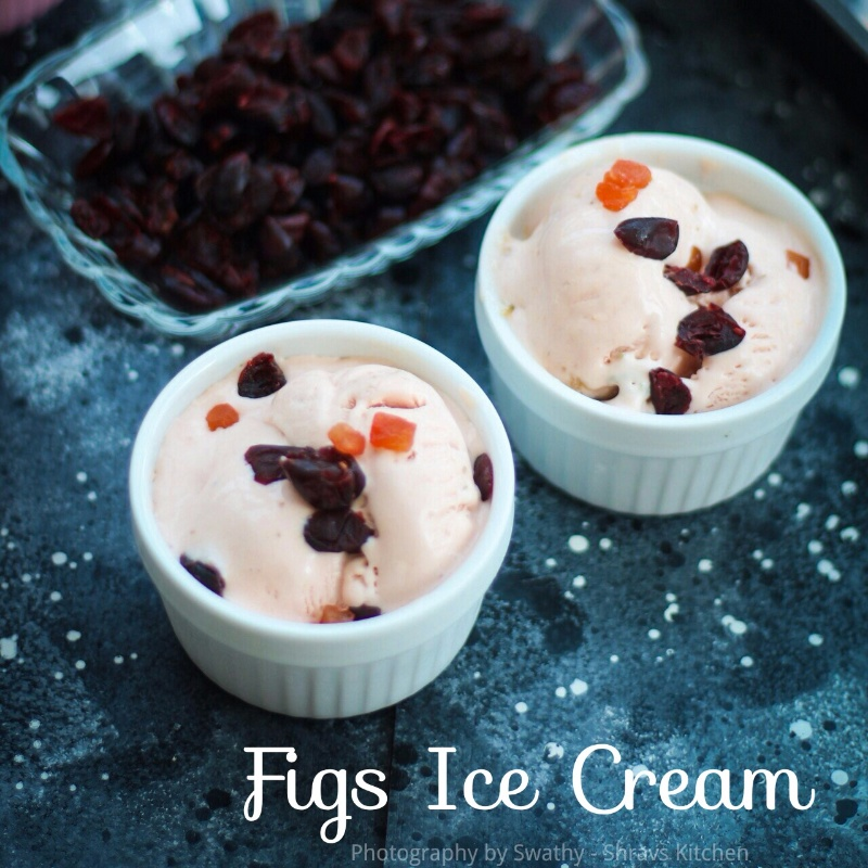 How to make FRESH FIG ICE CREAM