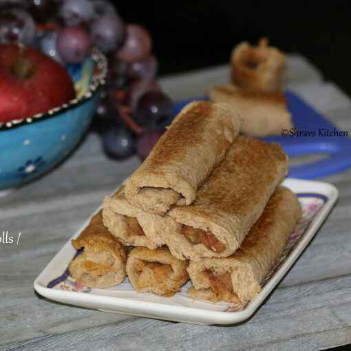 How to make Apple French Toast Roll Ups