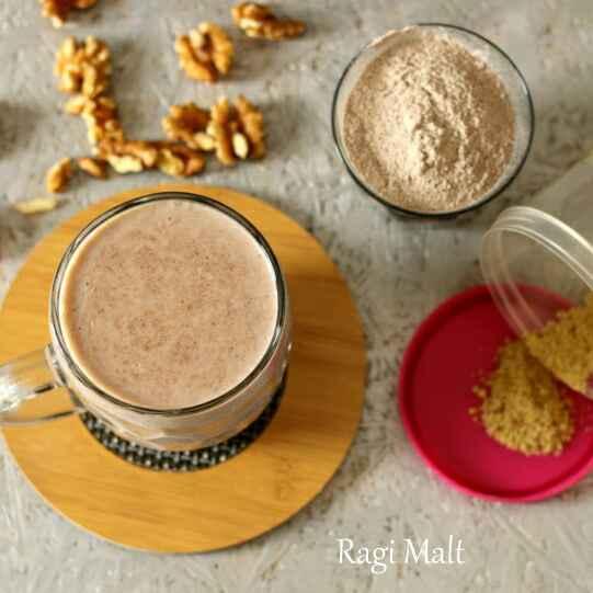 How to make Ragi Malt
