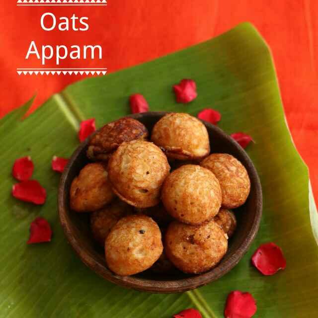How to make Sweet Oats Appam