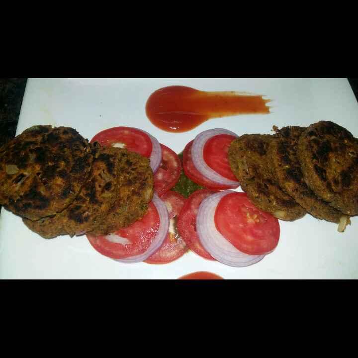 How to make Chole & suji /rava kababs
