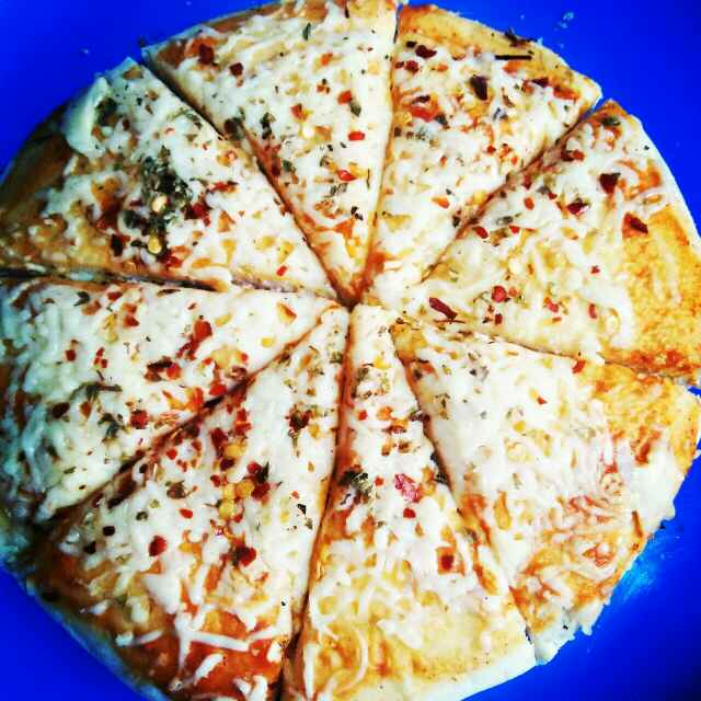 How to make चीज  पीजा