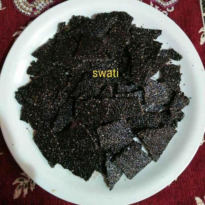 Photo of Black seasame seeds chikki by Swati Bapat at BetterButter
