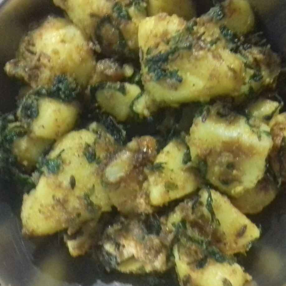 Photo of Aloo methi by Swati Bhargava at BetterButter