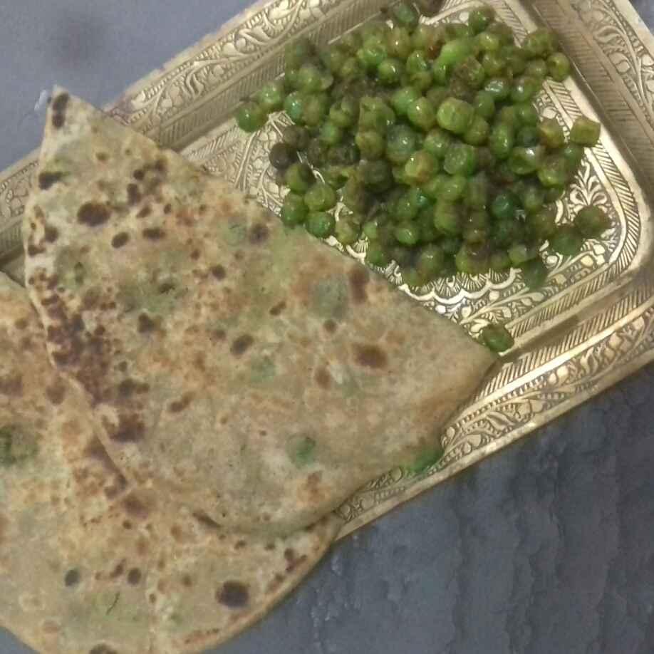 How to make Peas paratha